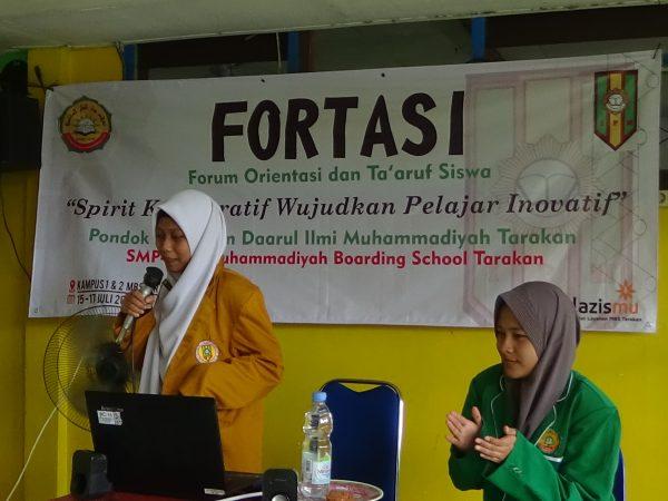 FORTASI (Forum Ta'aruf dan Orientasi Siswa)