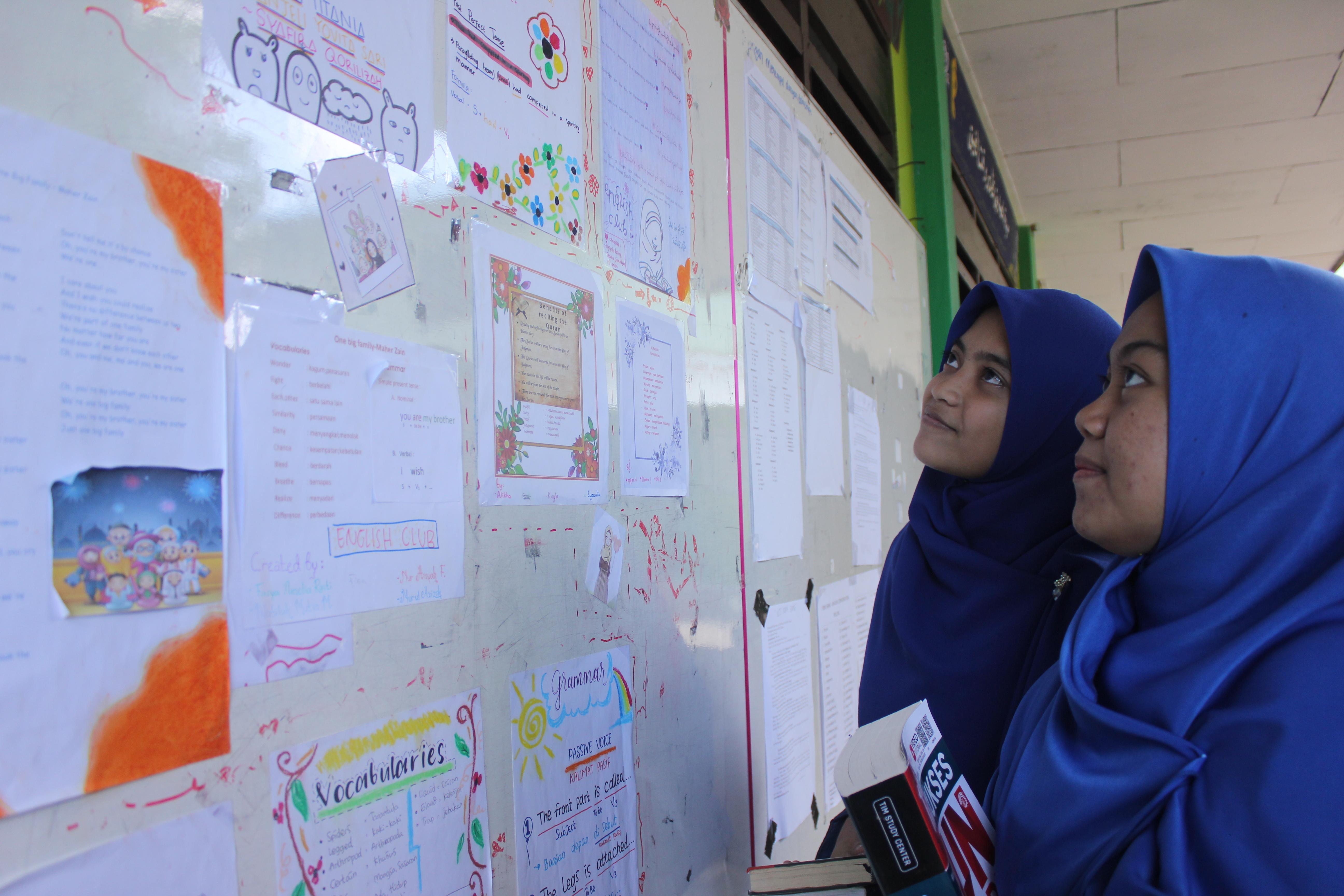 Pembagian Raport Online santri MBS Tarakan