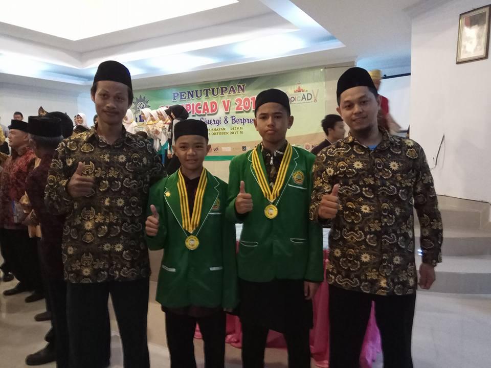 Juara 1 OlympicAD 2017