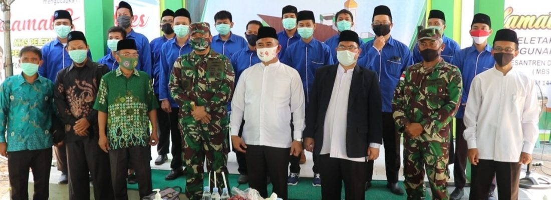 Peletakkan Batu Pertama Masjid At-Tanwir MBS Tarakan
