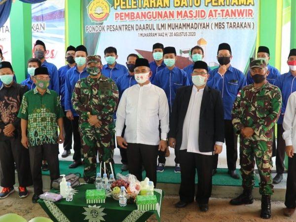 Peletakkan Batu Pertama Masjid At- Tanwir Ponpes Daarul Ilmi Muhammadiyah Tarakan