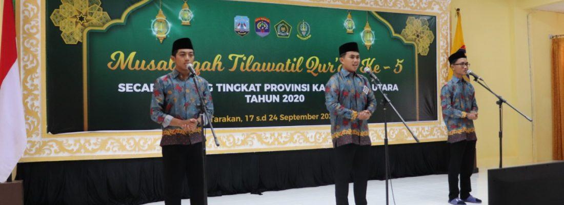 MTQ Provinsi Kalimantan Utara Tahun 2020