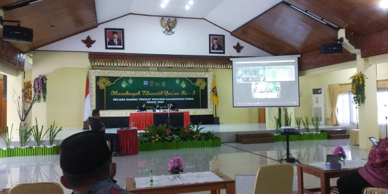 Juara 3 MTQ Cabang Fahmil Qur'an Tingkat Provinsi Kalimantan Utara 2020