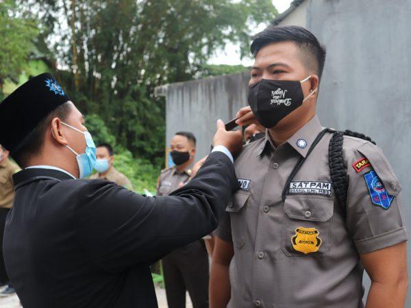 MBS Tarakan Launching Pangkat dan Seragam Baru Satuan Pengamanan