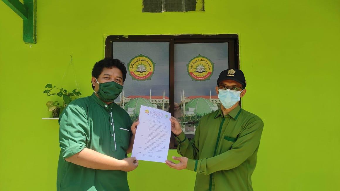 Hari PERS Nasional : MBS Tarakan Terbitkan SK Kepengurusan WEB Sekolah