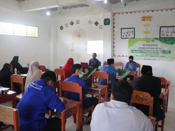 Peningkatan Mutu Guru : Litbang MBS Tarakan Adakan Workshop Pembuatan Soal AKM