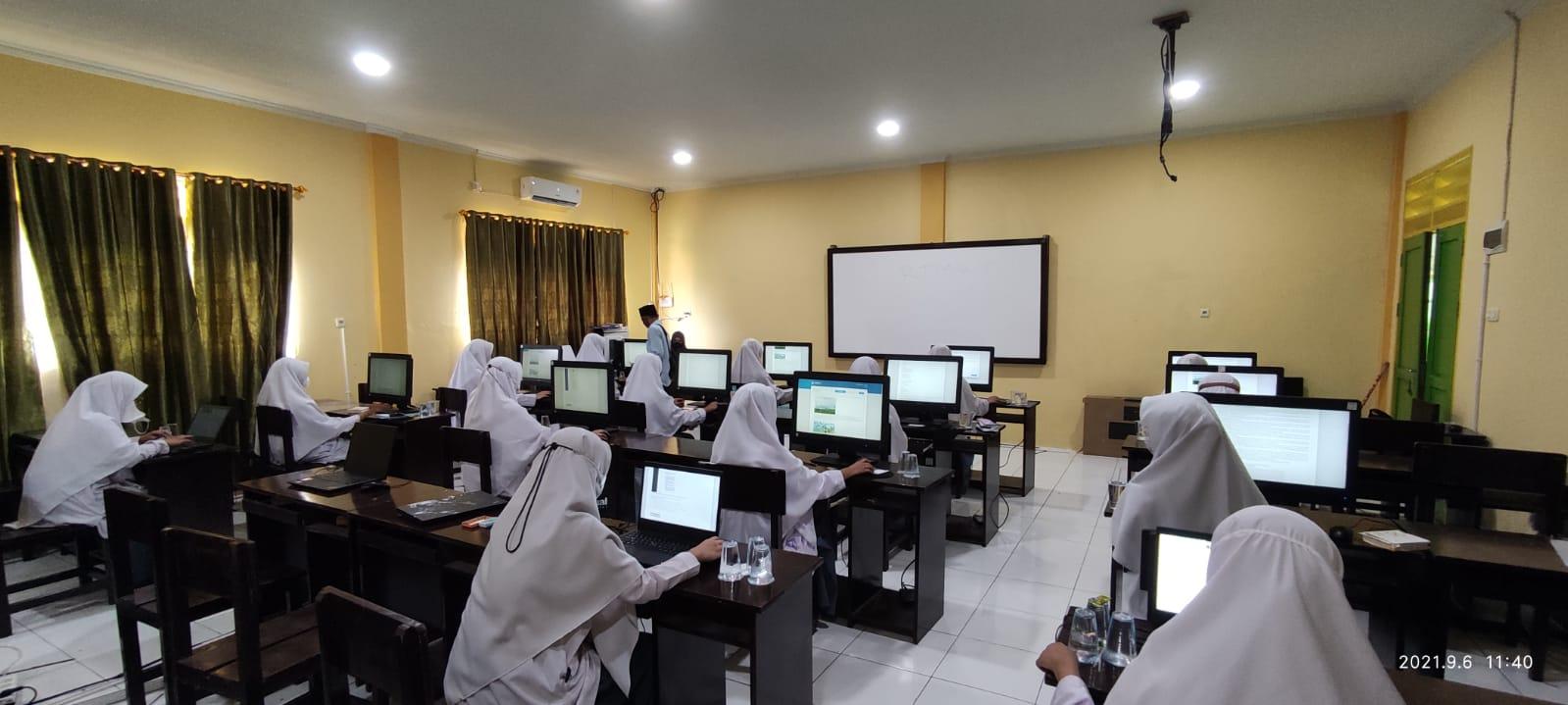 SMA MBS Tarakan mengadakan Simulasi Asesmen Kompetensi Minimum (AKM)