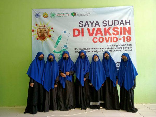 Ponpes Daarul Ilmi Muhammadiyah & MCCC Kaltara Adakan Vaksinasi untuk Santri